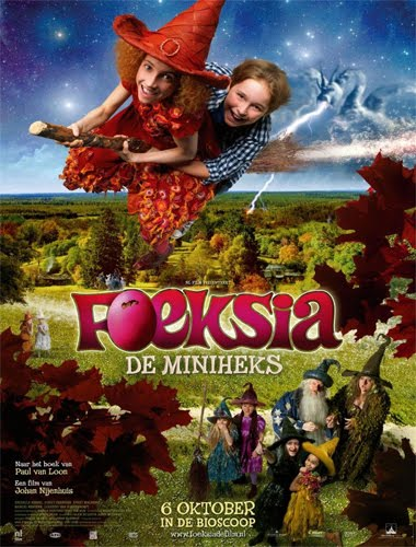 Ver Fucsia la mini bruja (2010) Online