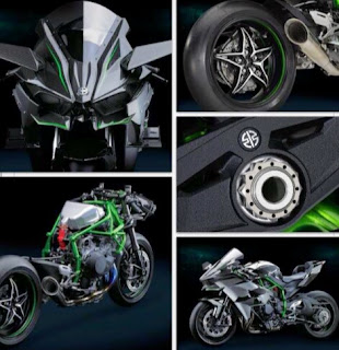 Spesifikasi dan Harga Kawasaki Ninja H2, Motor Tercepat di Dunia