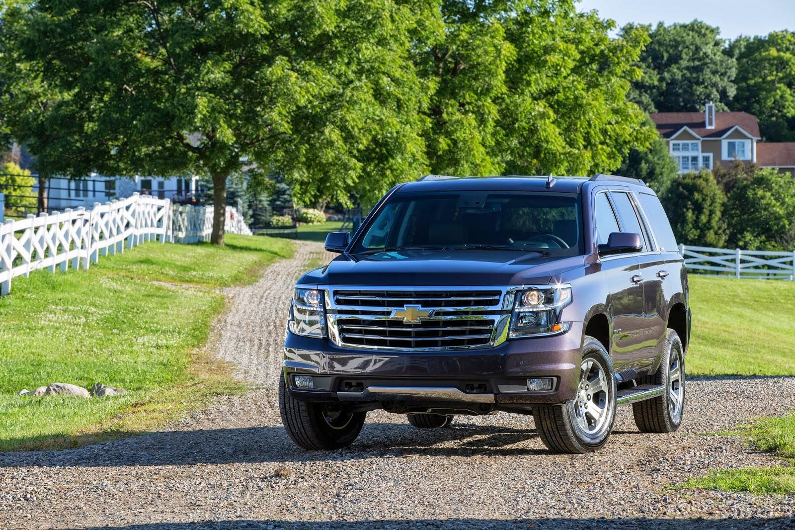 Foire du Texas 2014, 2015 Chevrolet Tahoe et Suburban Z71