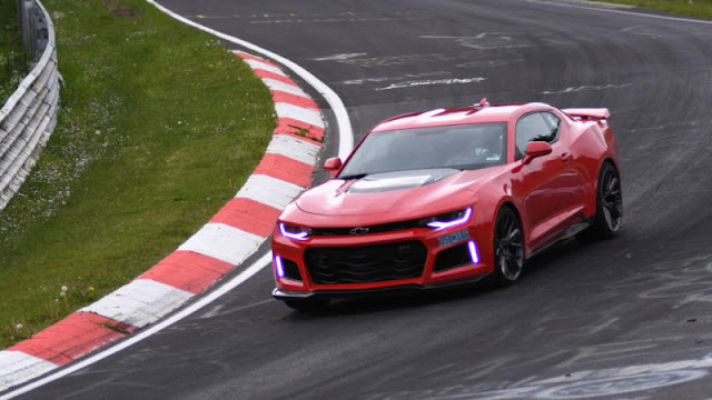 2017 Chevrolet Camaro ZL1 Tested at Nürburgring