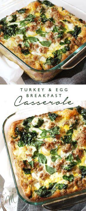 Turkey and Egg Breakfast Casserole