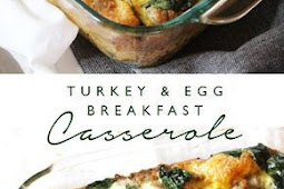 Turkey and Egg Breakfast Casserole