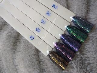[Recenzja] Wielka paka pyłków od Nail Mad: zestaw kolorowych pigmentów, opalizujące płatki i syrenkowe pyłki w dużych słoiczkach :)