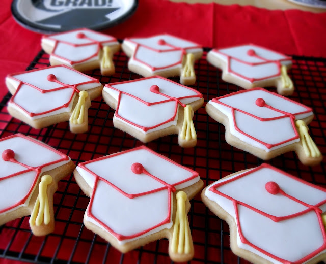 My Cookie Clinic Diploma Cookies Congrats