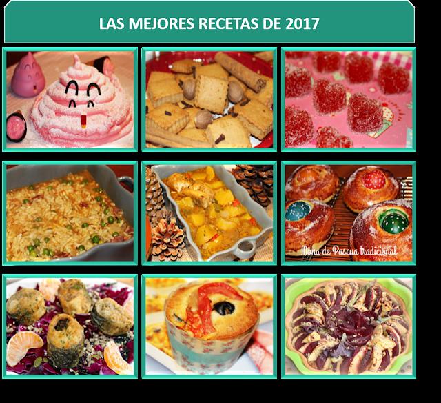LAS MEJORES RECETAS DE 2017 {LOS TELARES DE SIL}