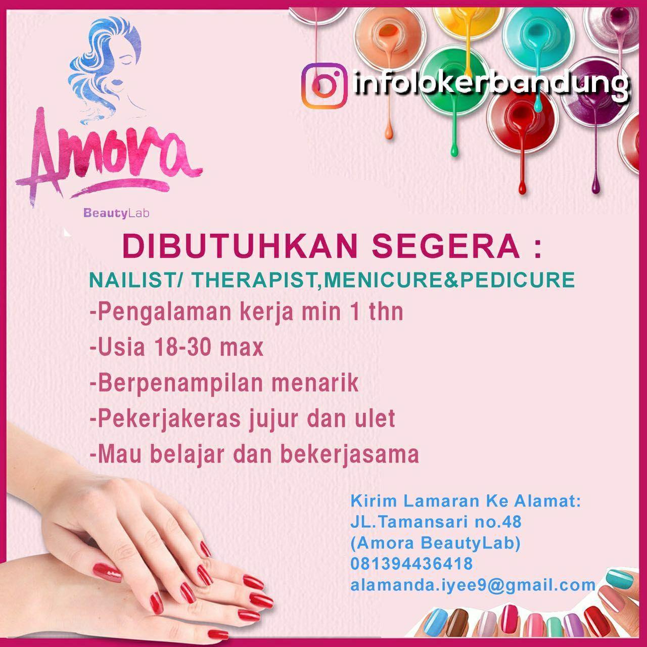 Lowongan Kerja Amora Beauty Lab Bandung Februari 2018