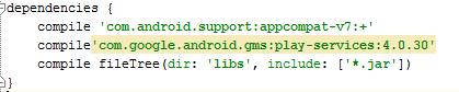 Install the Google Play Services SDK In Android Studio 21