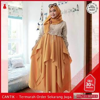 Jual RRJ123D147 Dress Maxy Moscrepe Wanita Nona Mc Terbaru BMGShop