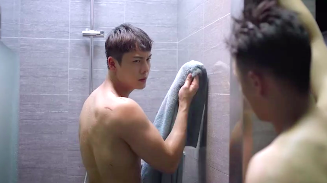 Only Side By Side With You William Chan shower scene