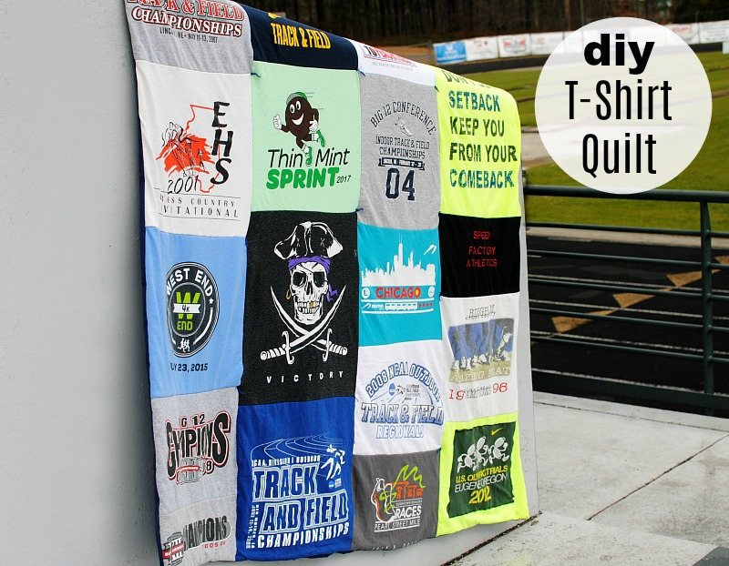 DIY: Simple T-Shirt Quilt