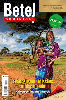Editora Betel - Lição 01 - A tarefa de testemunhar Cristo