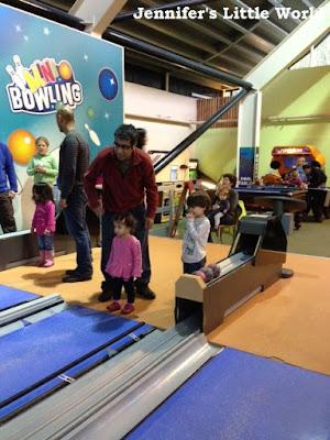 Mini bowling at Center Parcs Longleat