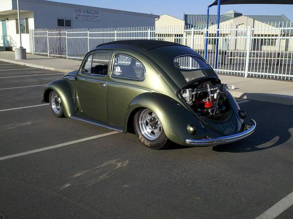 1953 VW Beetle Ragtop Pro Street For Sale