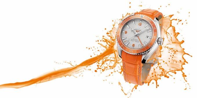 Introducing The OMEGA Seamaster Planet Ocean Orange Ceramic