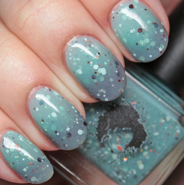 Baby Girl Lacquer Mint2B