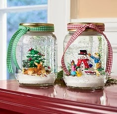 Home Decor Ideas Mason Jar Christmas Crafts