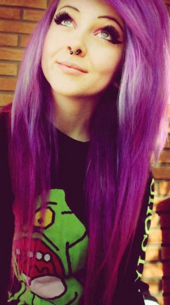 Fashion Hair Style Girl