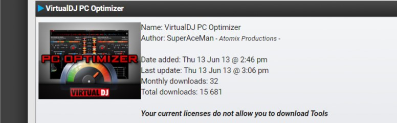 Virtual Dj PC Optimizer Tool Free Download