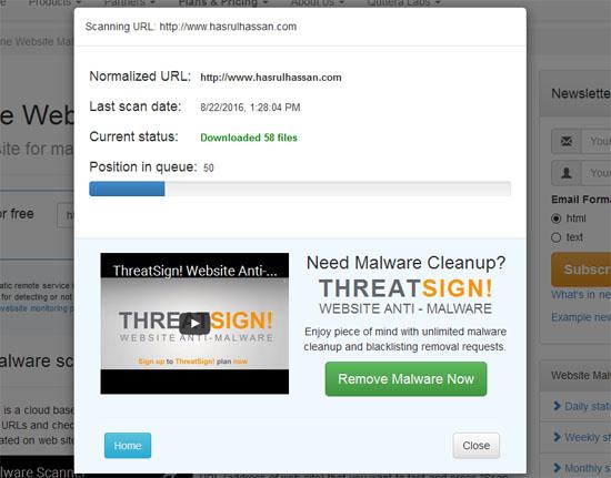 Semak guna antivirus online percuma