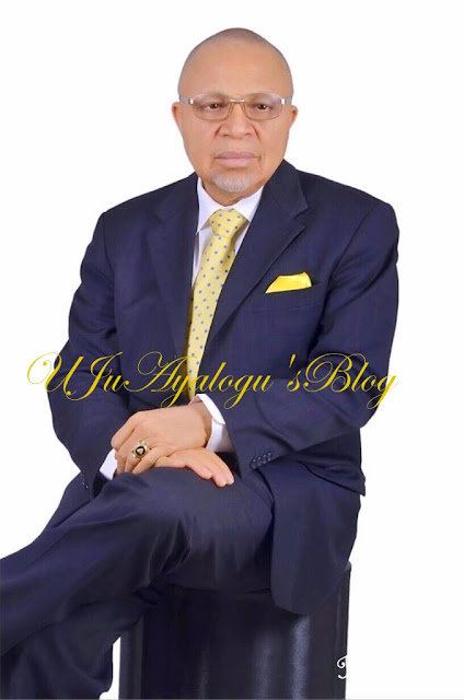 ( Photos) Birthday message to Ambassador Joseph U Ayalogu..from Wife