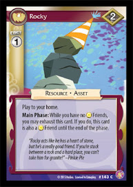 My Little Pony Rocky Absolute Discord CCG Card