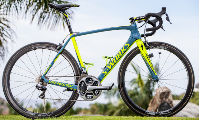 Tinkoff team Specialized Tarmac