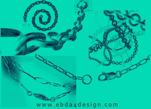 تحميل فرش سلاسل للفوتوشوب مجاناً, Photoshop Brushs free Download, Chains Photoshop Brushs free Download