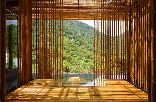Home designs bamboo house design - Bamboo designs for interior designing ...