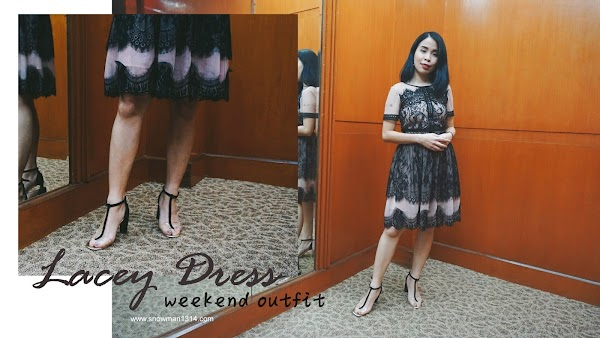 Lacey Dress Weekend Outfit #74