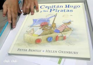 libro el capitan hugo y los piratas, sobre el cual se centra el libro