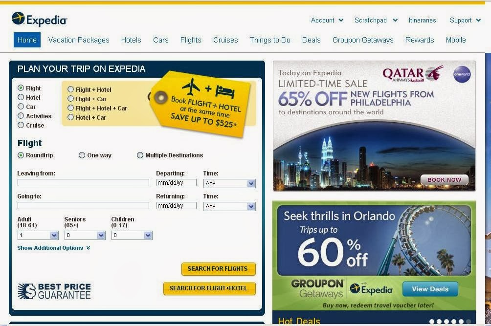 The Top 10 Highest Earning Websites in the World (Expedia)