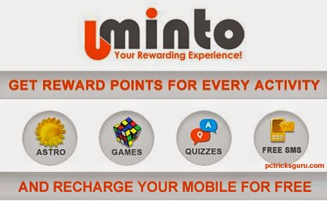 Get Free Mobile Recharges From Uminto
