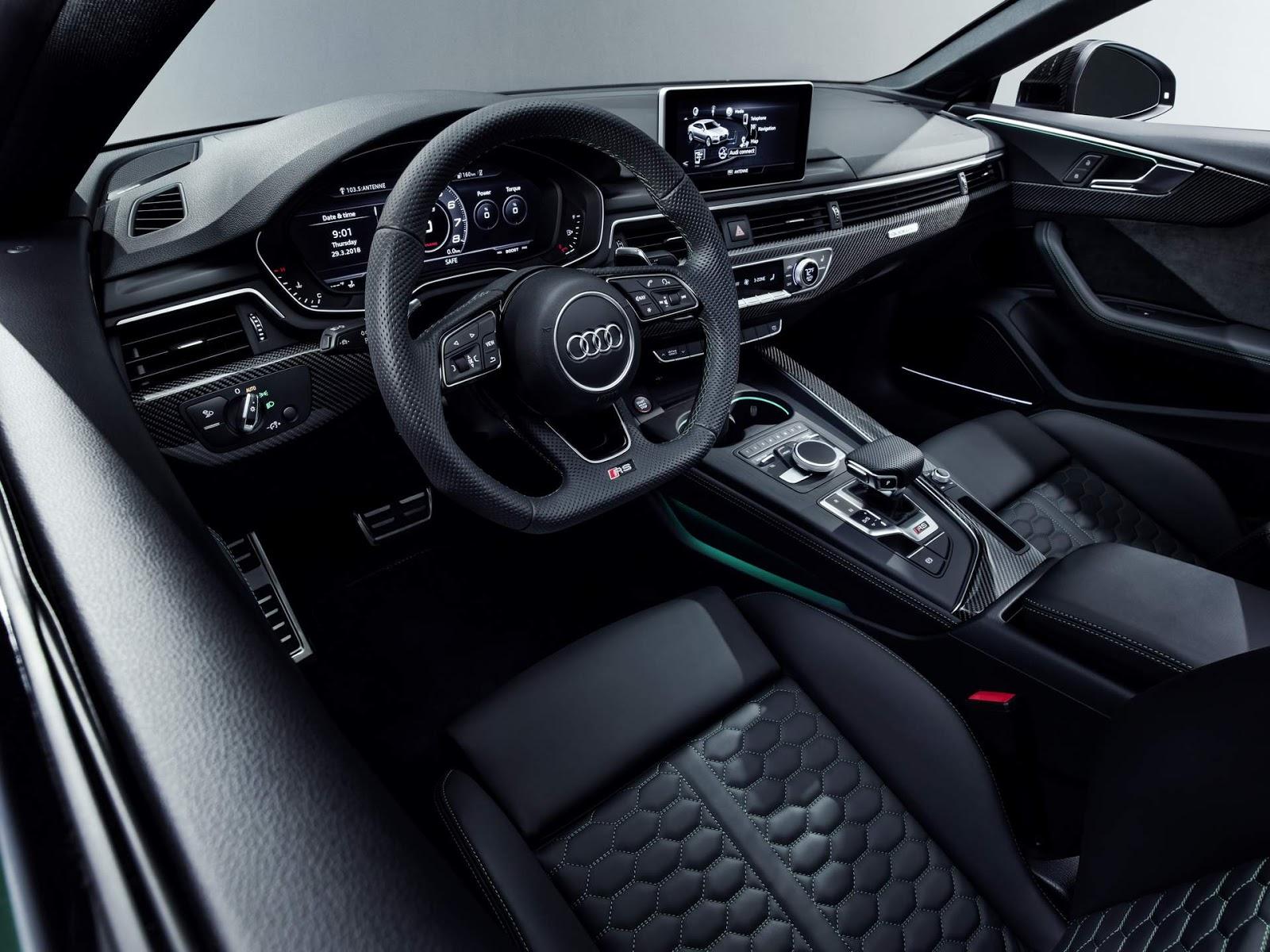 Audi RS5 Sportback precificado em 82.700 euros - Europa | CAR.BLOG.BR