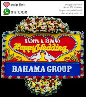 Bunga Papan, Congratulation, Selamat dan sukses, Happy Wedding,  jual bunga, toko bunga,