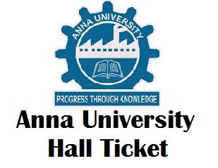 Anna University Hall Ticket Nov/Dec 2017