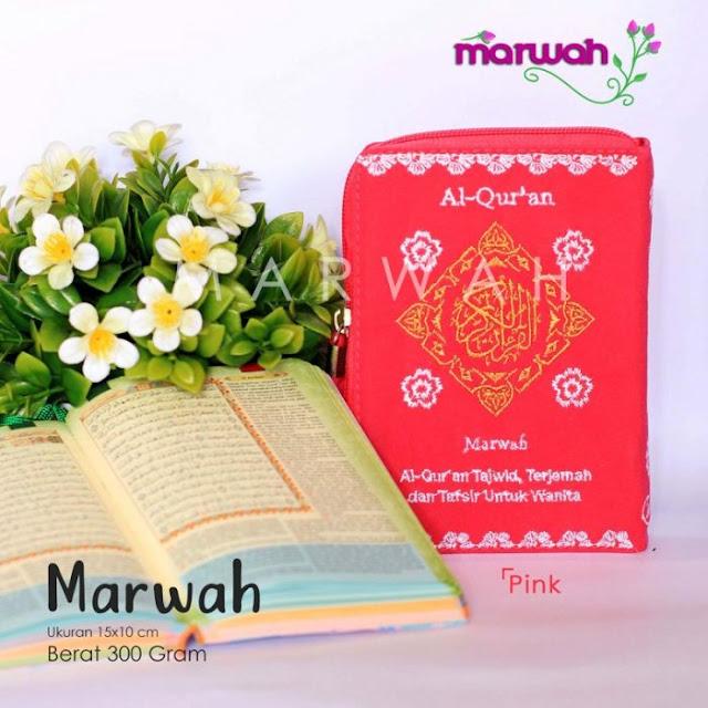 Alquran Wanita Marwah Pink
