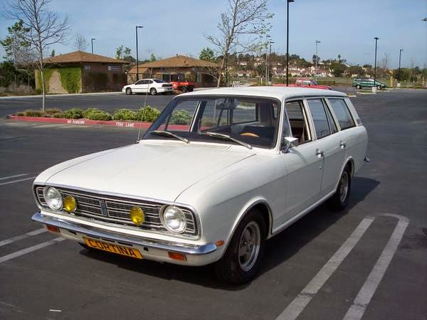 Daily Turismo: 15k: What Gives? 1969 Ford Cortina Deluxe Estate Mk II
