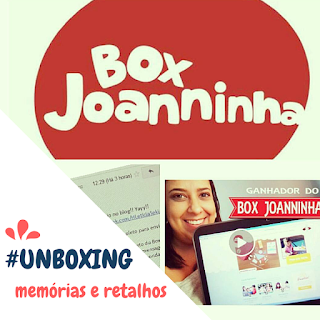 #UNBOXING - BOX JOANNINHA
