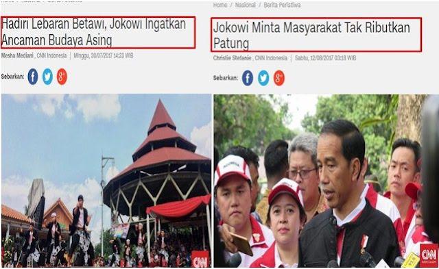Jokowi Ingatkan Ancaman Budaya Asing, Tapi Kok Malah Bela Patung China Ya?
