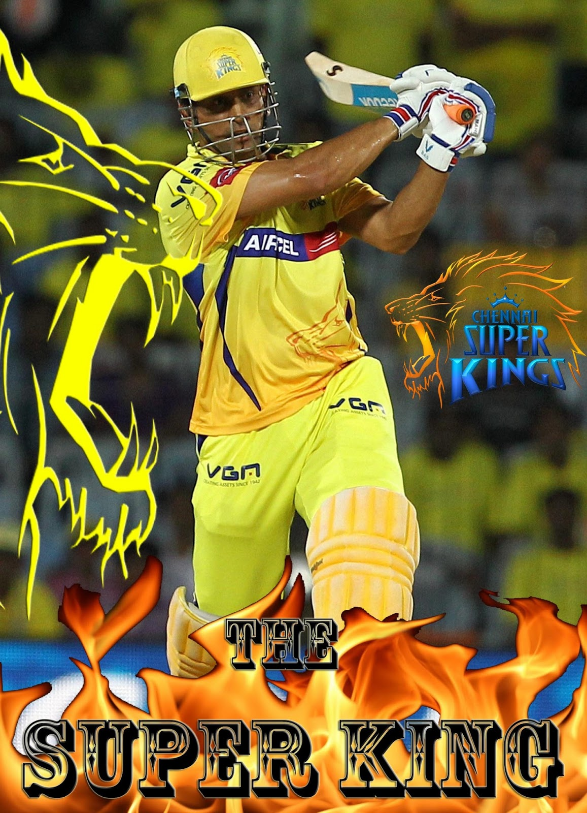 Latest Tech Tips Awesome Ms Dhoni Ipl Wallpaper