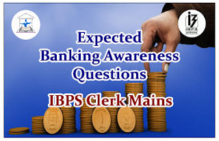 Expected Banking Awareness Questions for Clerical Mains