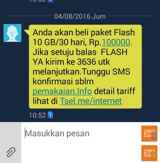 Cara Daftar Dan Dapatkan Paket Internet 10 GB Simpati Telkomsel Di *550*910#