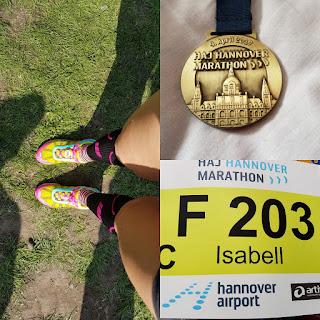 HAJ Hannover Marathon 2017 Medaille Startnummer