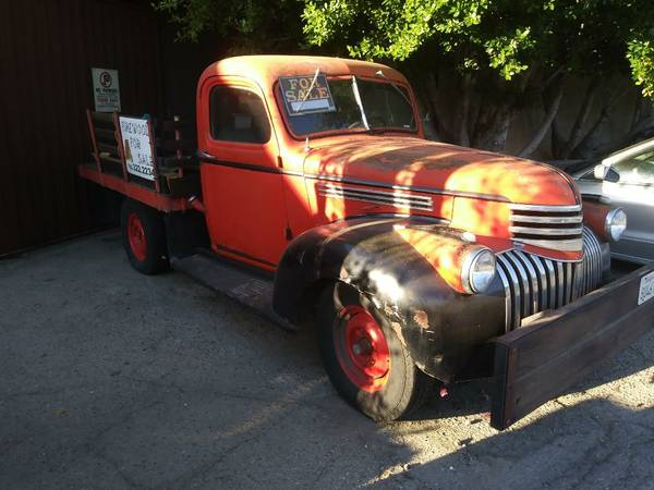 1946 Chevrolet Flatbed Truck For Sale