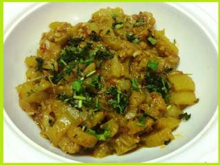 Zucchini Sabzi Recipe