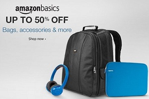 AmazonBasics - High Quality Products upto 50% Off @ Amazon