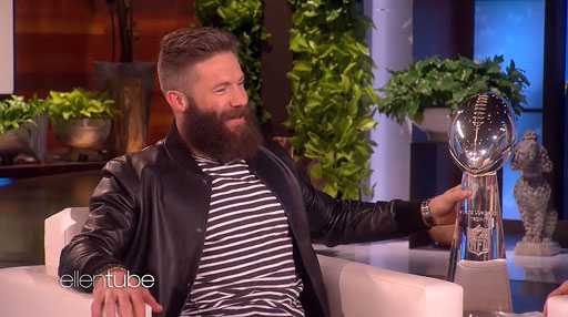 The Randy Report Ellen Really Wants To Shave Super Bowl Mvp