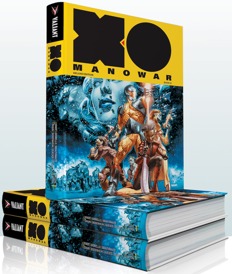 X-O MANOWAR by MATT KINDT DELUXE EDITION BOOK 1