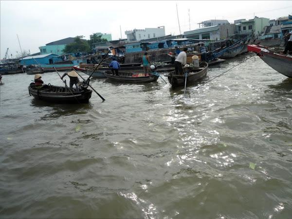 Mercados flotantes en Can Tho - Vietnam