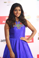Eesha in Cute Blue Sleevelss Short Frock at Mirchi Music Awards South 2017 ~  Exclusive Celebrities Galleries 040.JPG